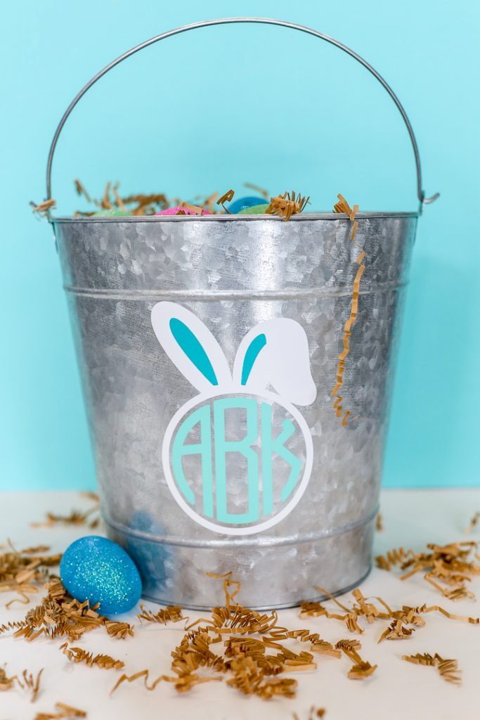monogram easter basket decal-1